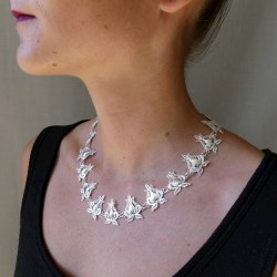 collier filigrane en argent...