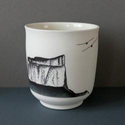 white porcelain cup Mt...