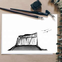 illustration mont aiguille