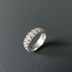 fine silver filigree ring