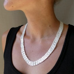 Collier filigrane en argent