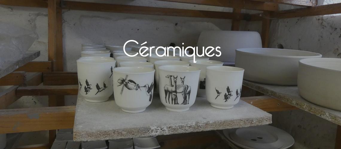 céramique en porcelaine