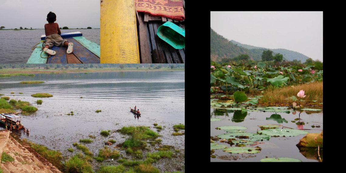 lake in Battambang