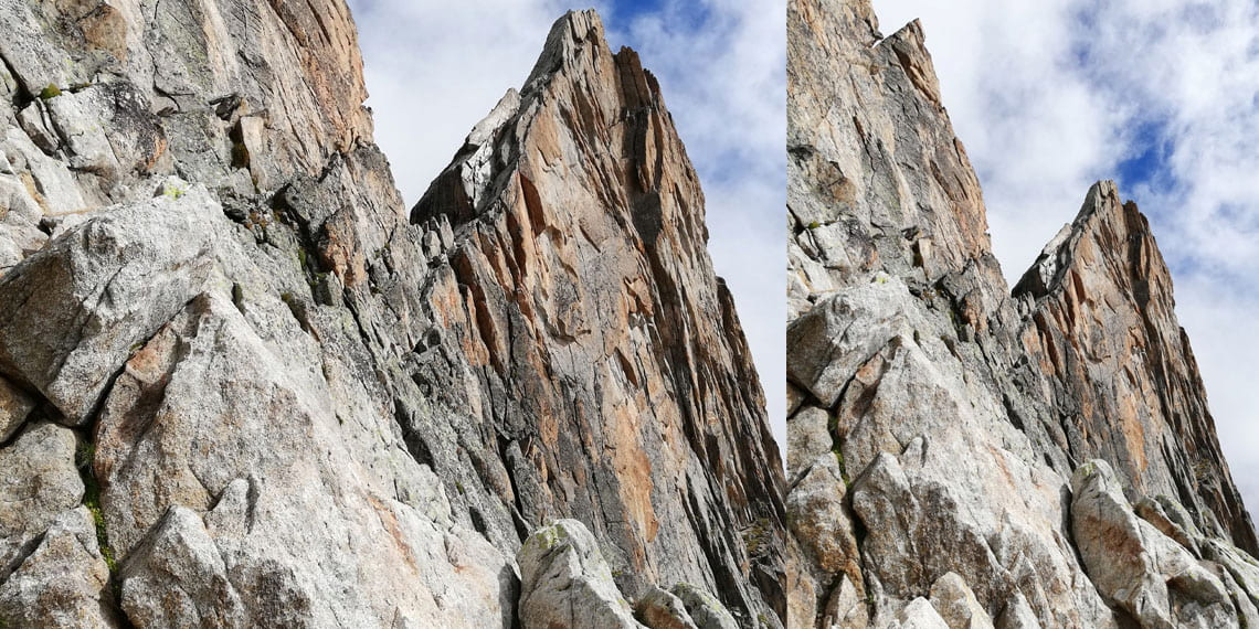 ledge of normal route to Dibona