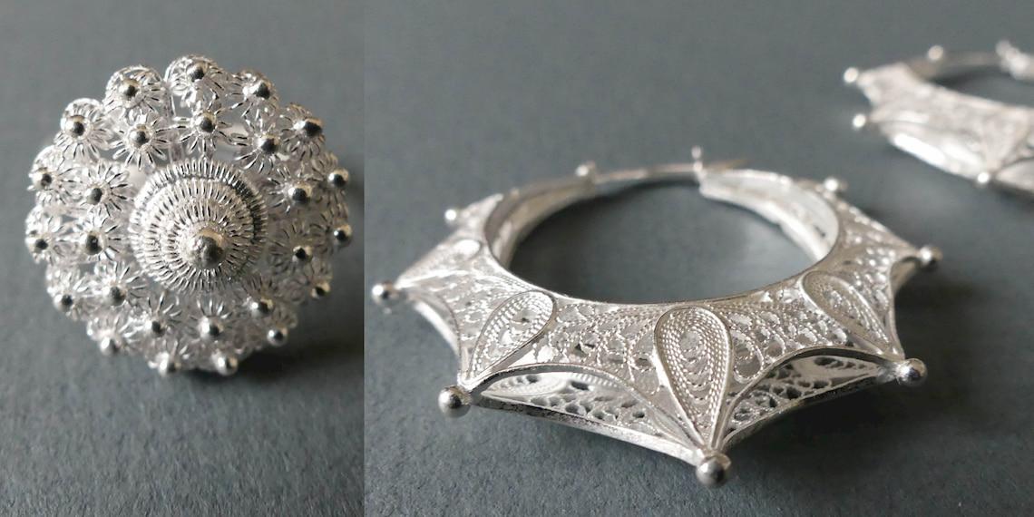 silver filigree jewels