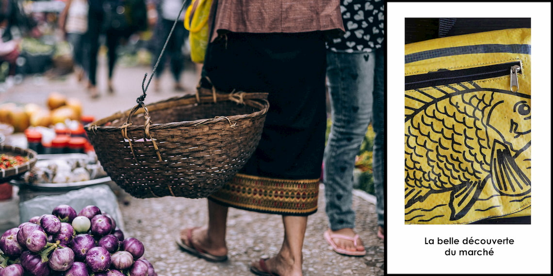 recycling handbags from Cambodia