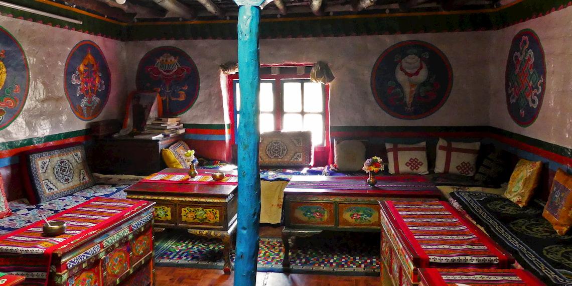 Tibetan house of Mustang