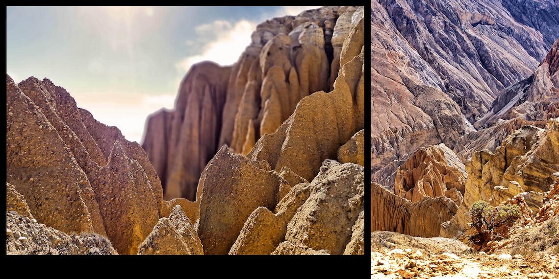 Landscape of Mustang