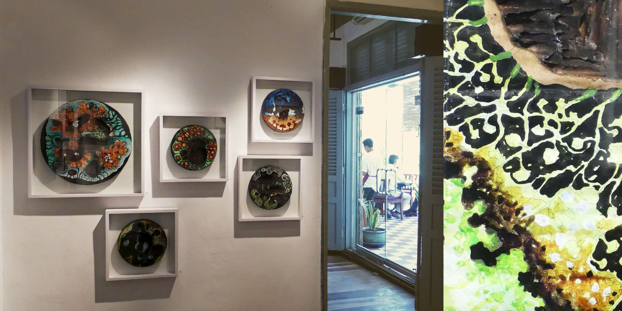 exhibition of contemporary art