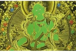 Green Tara: Buddhist goddess